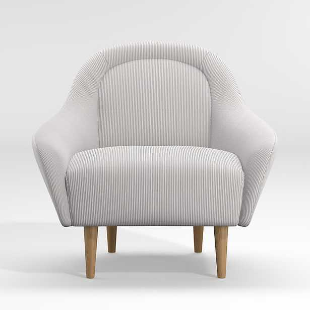Amalie Small Space Chair - Crate and Barrel