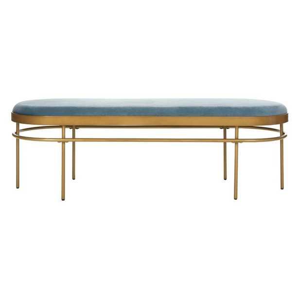 Hillview Upholstered Bench - Wayfair