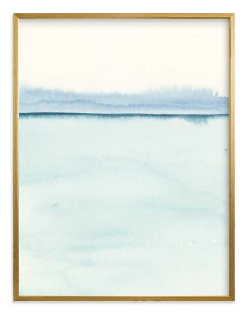 """Playa Two - 40 x 54"""" gilded frame - Minted"""