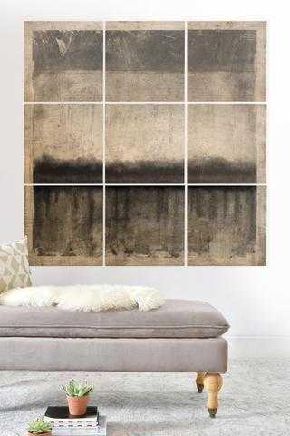 E2 Wood Wall Mural - Wander Print Co.