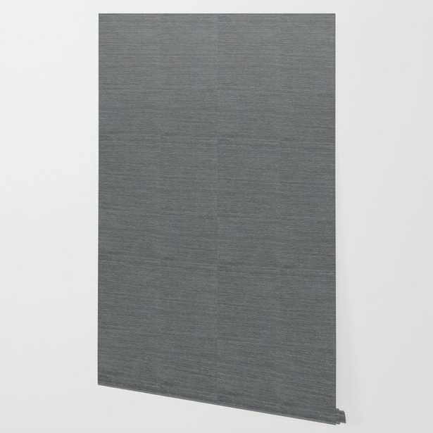 Pewter Sisal Wallpaper Wallpaper, 2' x 10' - Society6