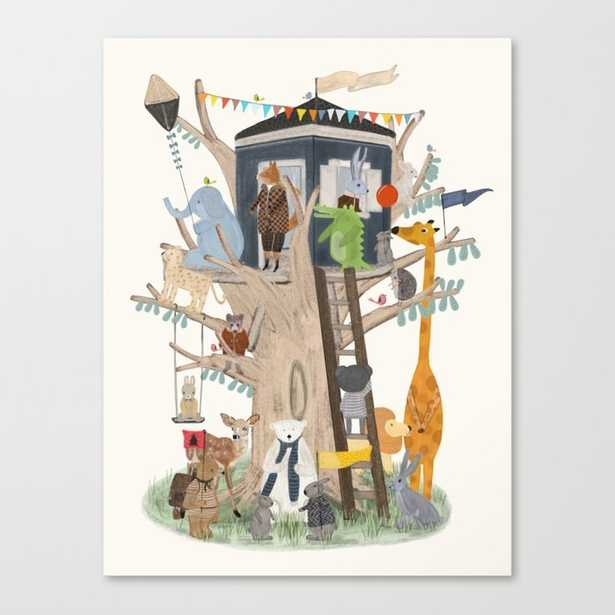 little playhouse Canvas Print - Society6