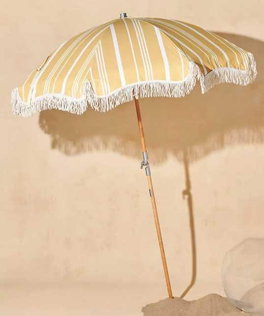 Soleil Beach Umbrella - Anthropologie