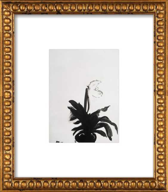 The Orchid - 8x10 - gold bead frame - Artfully Walls