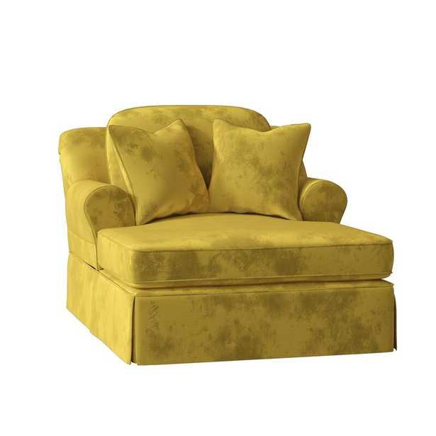 Adamsburg Chaise Lounge - Empire Curry - Wayfair