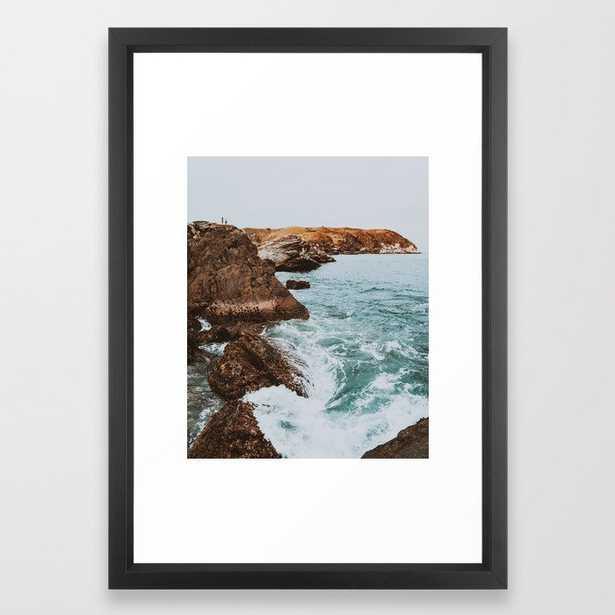 summer coast xiv / rio de janeiro, brazil Framed Art Print - Society6