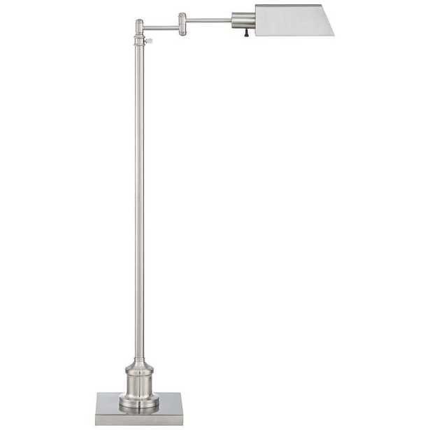 Jenson Brushed Nickel Pharmacy Floor Lamp - Style # 41A86 - Lamps Plus