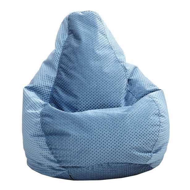 Standard Bean Bag Chair & Lounger - Blue - Wayfair