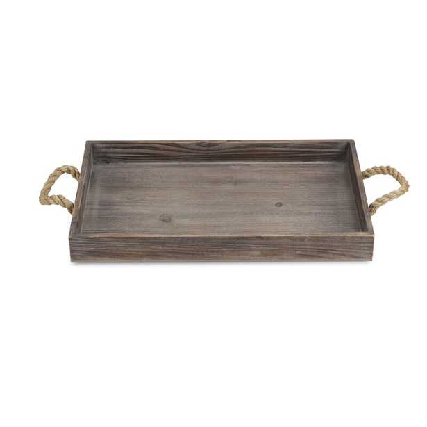 Cathey Wooden Serving Tray - Wayfair