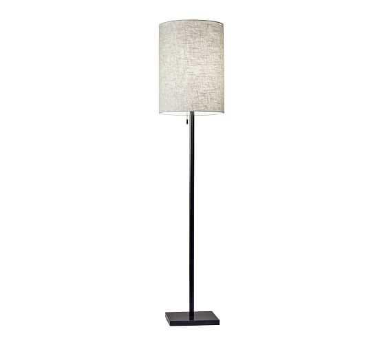 Forsyth Floor Lamp, Bronze - Pottery Barn