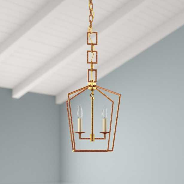 2 - Light Single Geometric Pendant - Wayfair