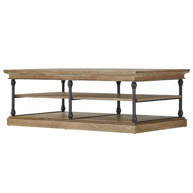 Poynor Frame Coffee Table / Brown - Wayfair
