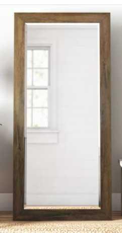 Pineview Wood Full Length Mirror - Birch Lane