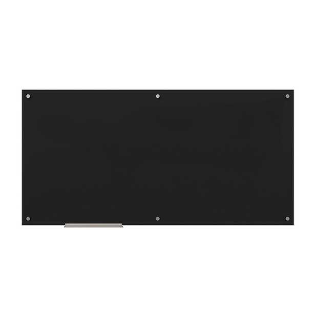Black Glass whiteboard - Wayfair