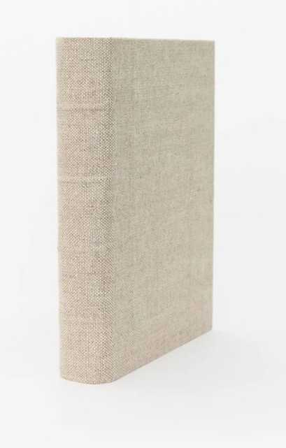 HANDCRAFTED LINEN BOOK MEDIUM - McGee & Co.