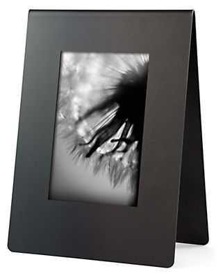 Bend Frame in Natural Steel - 4x6 vertical - Room & Board