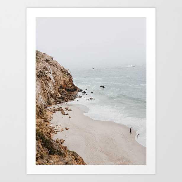 Malibu Coast / California Art Print - Mini by Mauikauai - Society6
