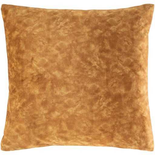"Fine Velvet Pillow, Tan, 20"" x 20"" - Havenly Essentials"