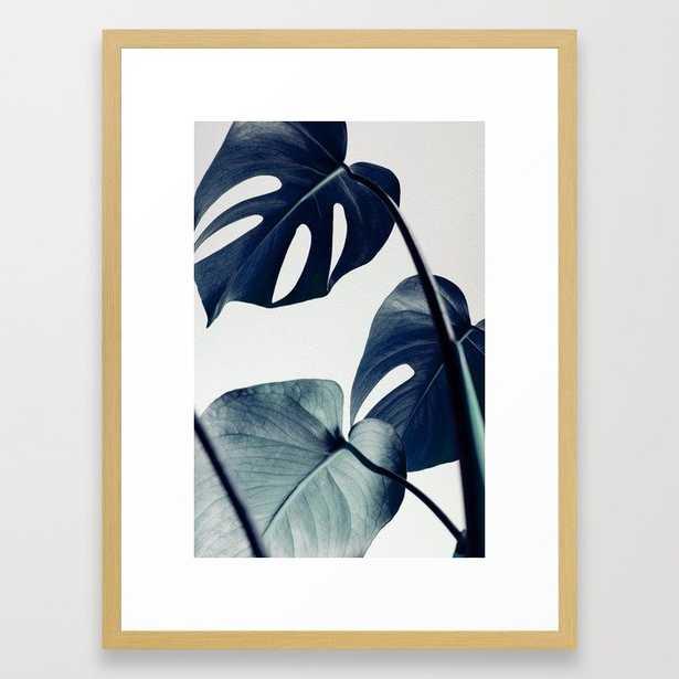 "Botanical Vibes II FRAMED ART PRINT- Conservation Natural, 20"" x 26"" - Society6"
