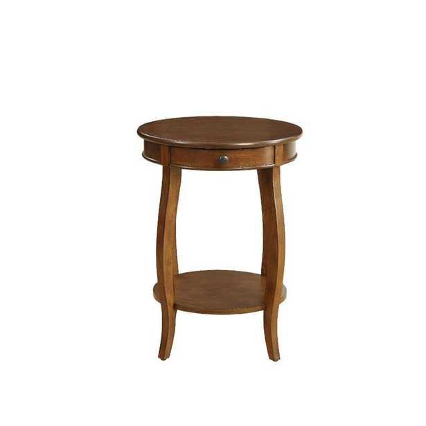 Stuckey End Table with Storage - Wayfair