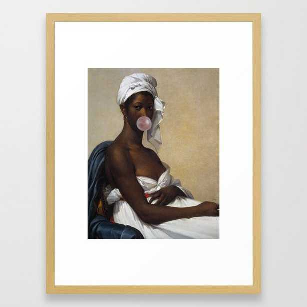 Portrait of Abigail Framed Art Print - Society6
