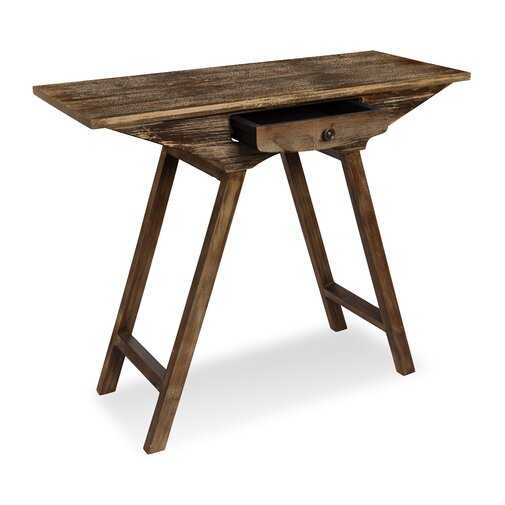 Pringle Chic Small Wooden Console Table - Wayfair