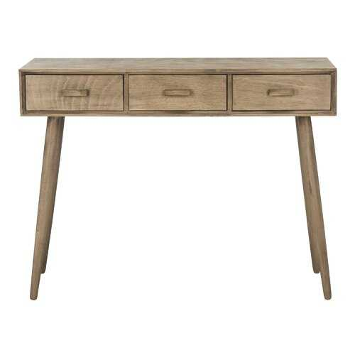 """Orion 3 Drawer 41.75"""" Console Table - Wayfair"""