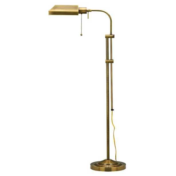 "Fishel Utility 59"" Task/Reading Floor Lamp - Wayfair"