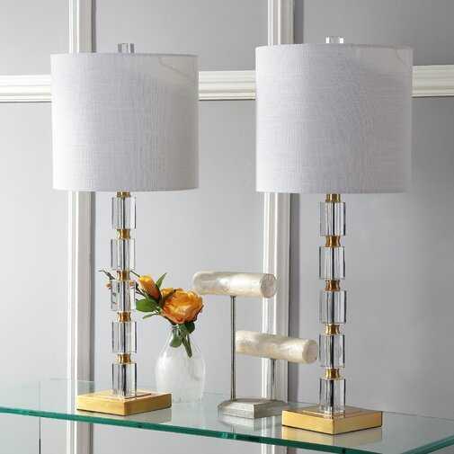 "Rinehart 29"" Table Lamp (Set of 2) - Wayfair"