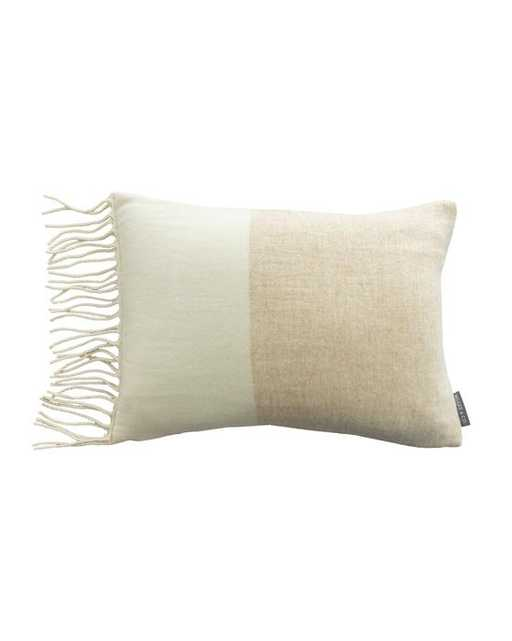 Jada Colorblock Wool Pillow Cover - McGee & Co.