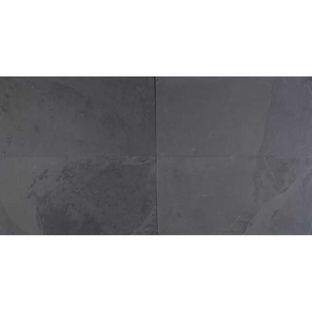 """Montauk 12"""" x 24"""" Slate Field Tile - AllModern"""