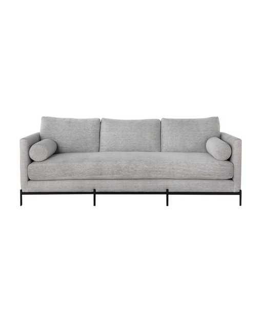 Morrison Metal Base Sofa - Stone Linen - McGee & Co.