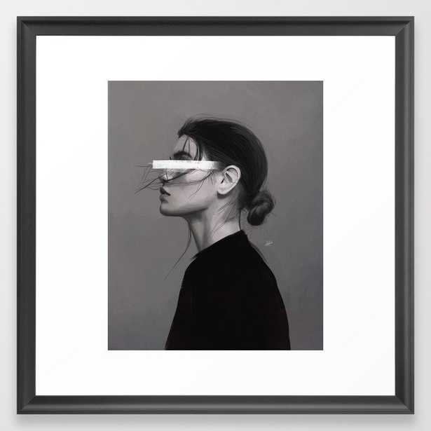 Stare Framed Art Print - Society6