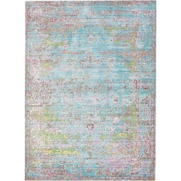 Hajeb Abstract MultiColor Area Rug - Wayfair