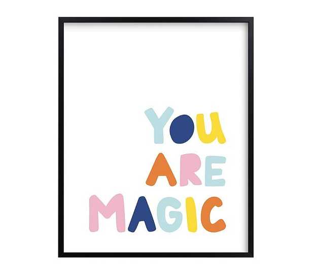 west elm x pbk You Are Magic Wall Art by Minted(R), 16x20 - Pottery Barn Kids