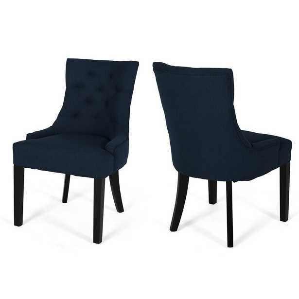 Grandview Tufted Upholstered Side Chair (Set of 2) - Wayfair