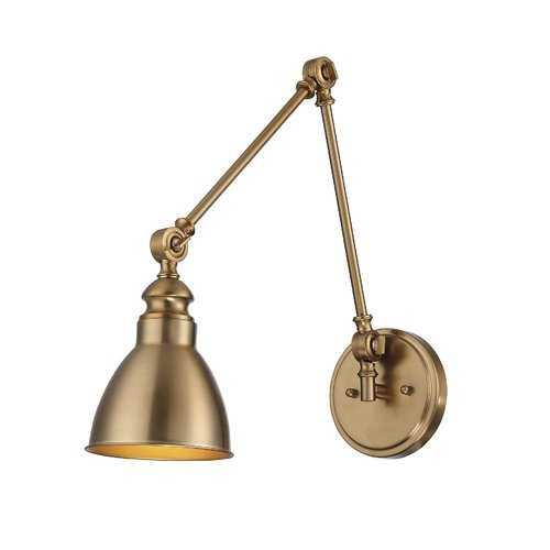 Hancock 1-Light Swing Arm Lamp - Wayfair