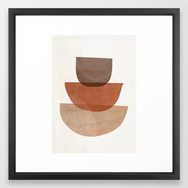 Abstract Shapes 18 Framed Art Print - Society6