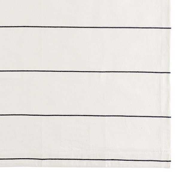 "Bowen Striped Panel - Indigo 96"" - Ballard Designs"