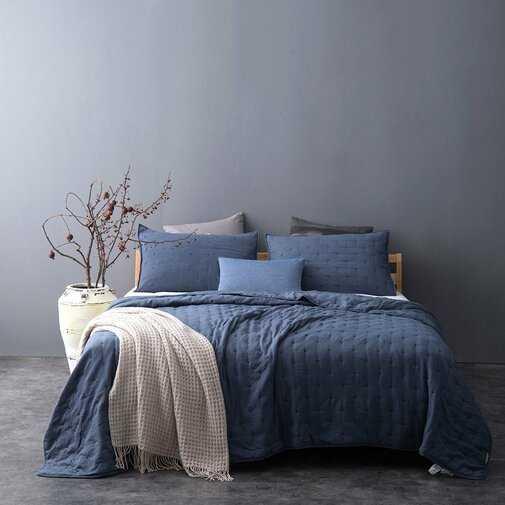 Fleisher Pre-Washed Reversible Quilt Set - Wayfair
