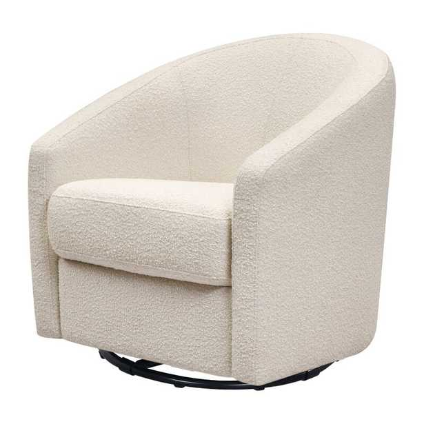 Madison Swivel Glider Upholstery Color: Ivory Boucle - Perigold