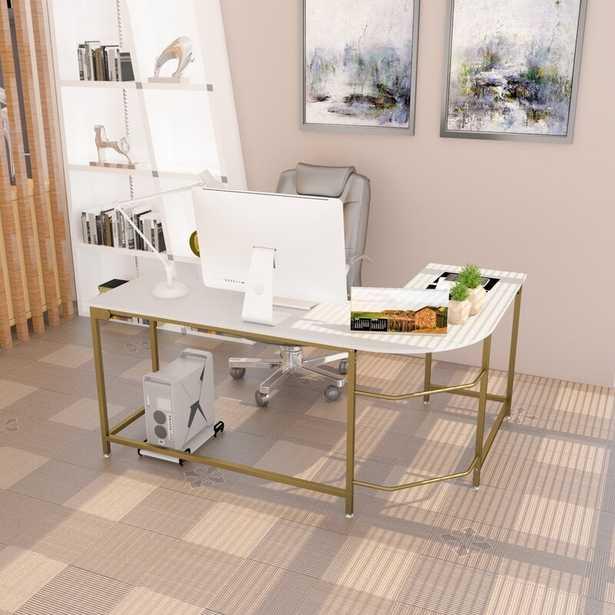 Bontrager L-Shape Desk - Wayfair