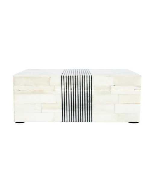 PINSTRIPE BOX - McGee & Co.