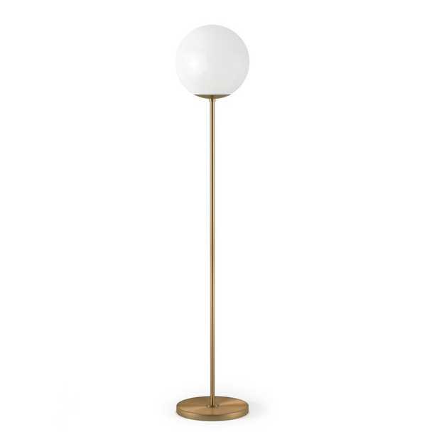 """Acton 63"""" Torchiere Floor Lamp - Wayfair"""