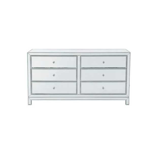 Tracey 6 Drawer Double Dresser - Wayfair