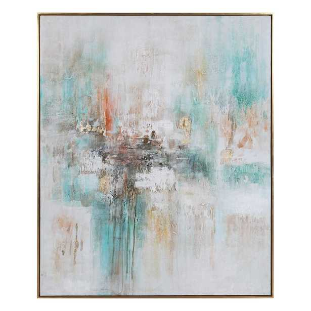 VIBRANT EXPRESSION HAND PAINTED CANVAS - Hudsonhill Foundry
