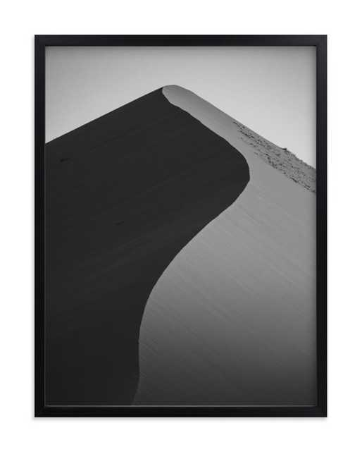 Dunes of Africa -Black and White - Minted