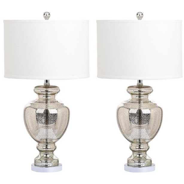 "Groton 15"" Table Lamp Set (Set of 2) - Wayfair"