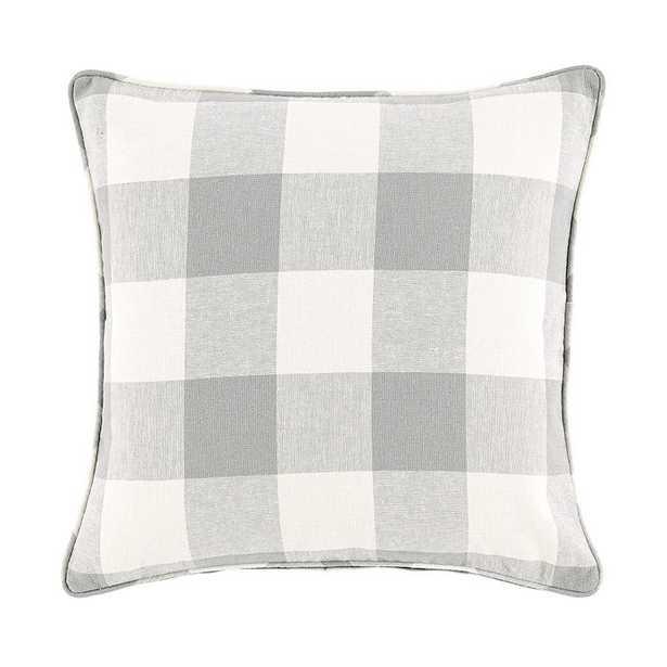 Buffalo Check Pillow Cover Gray - Ballard Designs