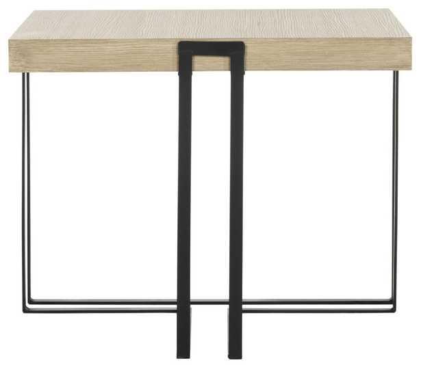 Pitt Mid Century Scandinavian Wood End Table - Arlo Home